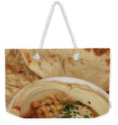 A Serving Of Humus Weekender Tote Bag