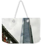 A Shard Day's Night Weekender Tote Bag