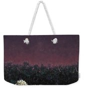 A Sheep In The Dark Weekender Tote Bag by James W Johnson