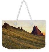 A Shiprock Sunrise - New Mexico - Landscape Weekender Tote Bag
