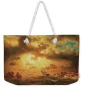 A Shipwreck By The Rocks Weekender Tote Bag