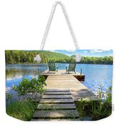 A Short Walk To Paradise  Weekender Tote Bag