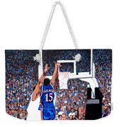 A Shot To Remember - 2008 National Champions Weekender Tote Bag by Tom Roderick
