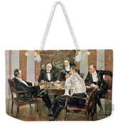 A Showdown Weekender Tote Bag by Albert Beck Wenzell