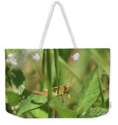 A Shy Grasshopper Weekender Tote Bag