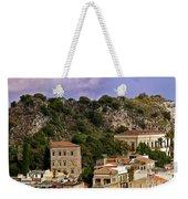 A Sicily View Weekender Tote Bag
