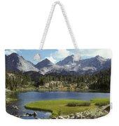 A Sierra Mountain Lake In Summer Weekender Tote Bag