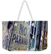 A Sign Of Time Gone By Weekender Tote Bag