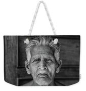 A Silent Conversation Bw Weekender Tote Bag