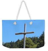 A Simple Cross On Hwy 101 Weekender Tote Bag