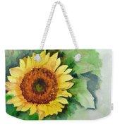A Single Sunflower Weekender Tote Bag