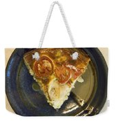 A Slice Of Savory Tomato And Cheese Tart Weekender Tote Bag
