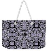A Sliver Of Silver Abstract Weekender Tote Bag