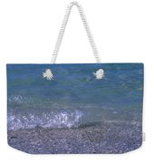 A Small Wave Ripples Onto Shore Weekender Tote Bag