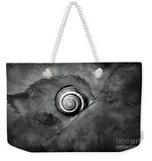 A Snail On A Leaf Weekender Tote Bag