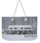 A Snowstorm At Valley Green Inn Weekender Tote Bag