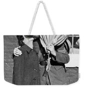 A Soldier's Goodby Kiss Weekender Tote Bag