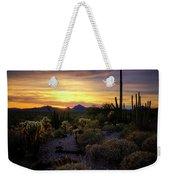 A Southern Arizona Sunset  Weekender Tote Bag