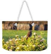A Sparrow Surveys Weekender Tote Bag