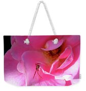 A Spider And A Rose Weekender Tote Bag