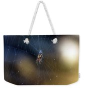 A Spider And Her Web Weekender Tote Bag