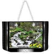 A Splendid Day On Logging Creek Weekender Tote Bag