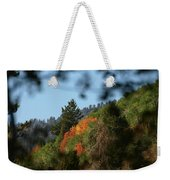 A Spot Of Fall Weekender Tote Bag
