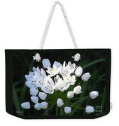A Spray Of Wild Onions Weekender Tote Bag