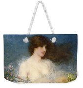 A Spring Idyll Weekender Tote Bag by George Henry Boughton
