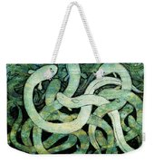 A Squirm Of Eels At The Bottom Of The Pond Weekender Tote Bag