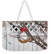 A Squirrel Christmas Weekender Tote Bag