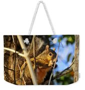 A Squirrel's Feist Weekender Tote Bag