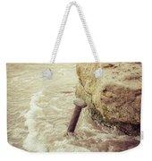 A Stake In The Beach Weekender Tote Bag