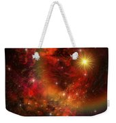 A Star Explodes Sending Out Shock Waves Weekender Tote Bag by Corey Ford