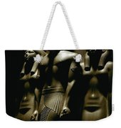 A Statue Of Pharoh Menkaura Weekender Tote Bag