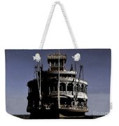 A Steamboat Coming Weekender Tote Bag