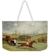 A Steeplechase - Another Hedge Weekender Tote Bag