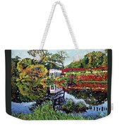 A Still Lake Weekender Tote Bag