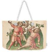 A Stoning Weekender Tote Bag