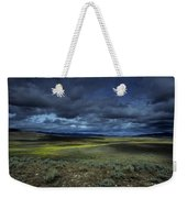 A Storm Builds Up Over A Colorado Weekender Tote Bag
