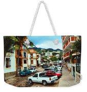 A Street In Puerto Vallarta Weekender Tote Bag