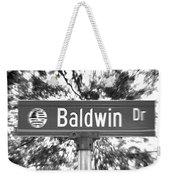 Ba - A Street Sign Named Baldwin Weekender Tote Bag