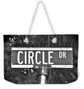 Ci - A Street Sign Named Circle Weekender Tote Bag