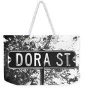 Do - A Street Sign Named Dora Weekender Tote Bag