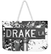 Dr - A Street Sign Named Drake Weekender Tote Bag
