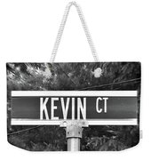 Ke - A Street Sign Named Kevin Weekender Tote Bag