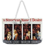A Streetcar Named Desire Wide Poster Weekender Tote Bag