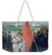 A Strike At Saint Ouen Weekender Tote Bag