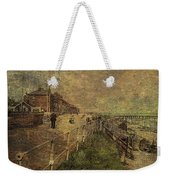 A Stroll Along The Seafront Weekender Tote Bag