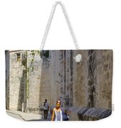 A Stroll By The Cathedral Weekender Tote Bag